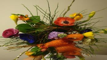 dekorative Strauß