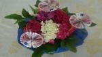 Geldgeschenk zum Geburtstag mit Blumen