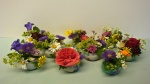Blumen Gesteck für die Einschulung
