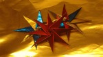 Stern basteln, 3D Sterne