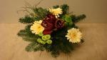 Blumenstrauß binden Floristik im Winter