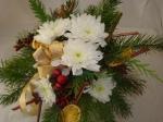 Adventsstrauß binden von flora-shop.eu