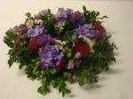 Blumenkränze mit frische Blumen selber machen Anleitung