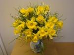 DIY Blumenstrauß mit Osterglocken