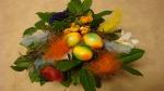 Ostern, Osterstrauß, Ostergeschenk Blumenstrauß mit Ostereier selber machen