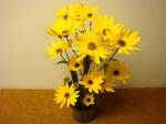 Tischdeko, Raumdekoration mit Blumen selber machen