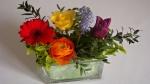 Blumendekoration selber machen ❁Colors of the Rainbow ❁ Deko Ideen mit Flora-Shop