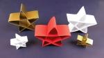 Stern aus Papierstreifen selber basteln - Deko Ideen mit Flora-Shop