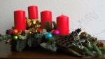 Weihnachtsdekoration ❁ Adventsgesteck selber machen ❁ Deko Ideen mit Flora-Shop