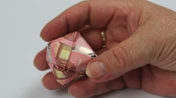 Geld falten ❁ Würfel aus Geldscheine basteln ❁ Deko Ideen mit Flora-Shop