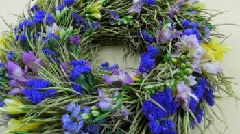 Türkranz selber machen ❁ Deko Ideen mit Flora-Shop