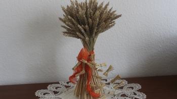 Sommer Floristik Stehstrauß aus Getreide ❁ Deko Ideen mit Flora-Shop