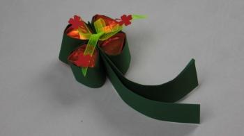 Glückskleeblatt mit Ferrero basteln ❁ Deko Ideen mit Flora-Shop