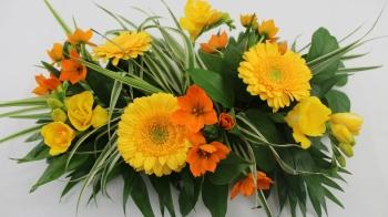 Floristik Anleitung, Blumengesteck, Tischdeko selber machen