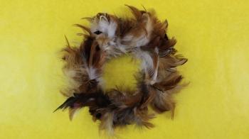 Osterdeko ❁ Kranz aus Federn binden ❁ Deko Ideen mit Flora-Shop