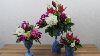 Blumengefäß für Blumengestecke selber machen ❁ Deko Ideen mit Flora-Shop