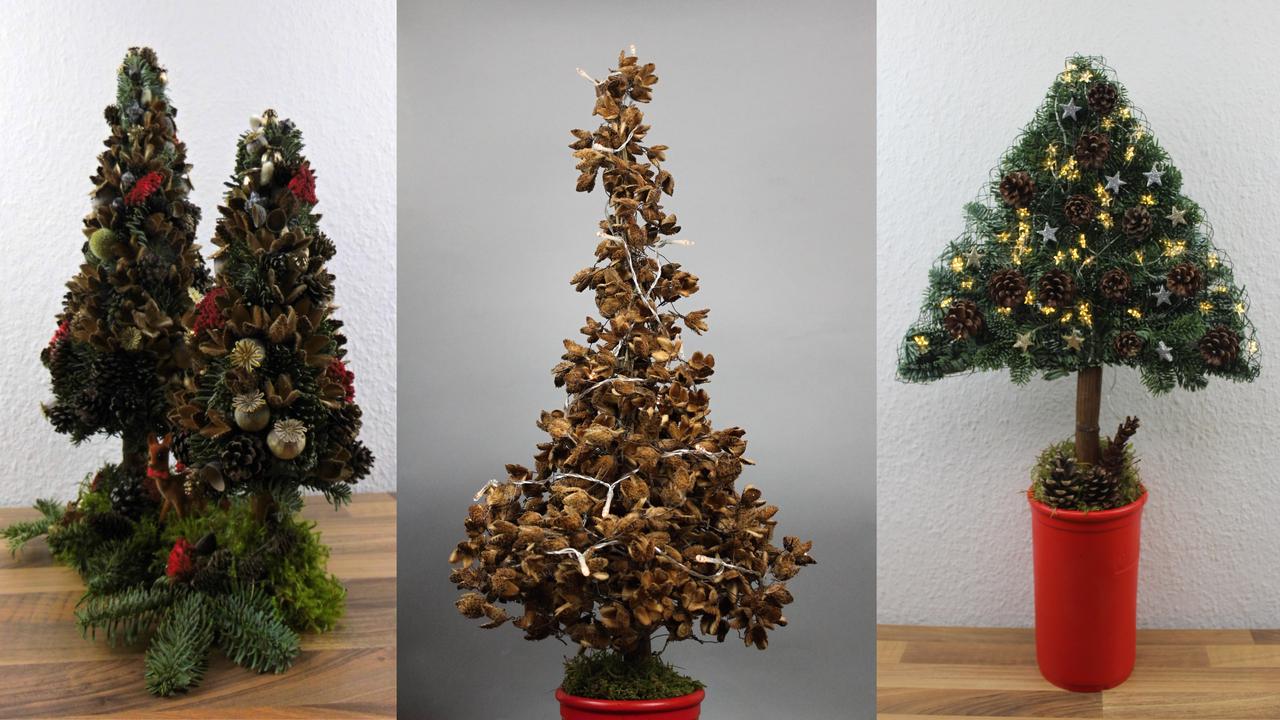 Tannenbaum basteln oder kaufen. Wie seht Ihr das
