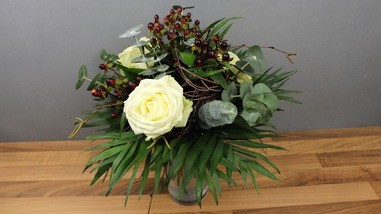 Blumenstrauß selber binden ❁ Floristik Anleitung ❁ Deko Ideen mit Flora-Shop