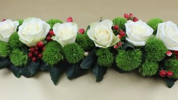 Tischdeko, Blumengesteck für die Hochzeit selber machen.