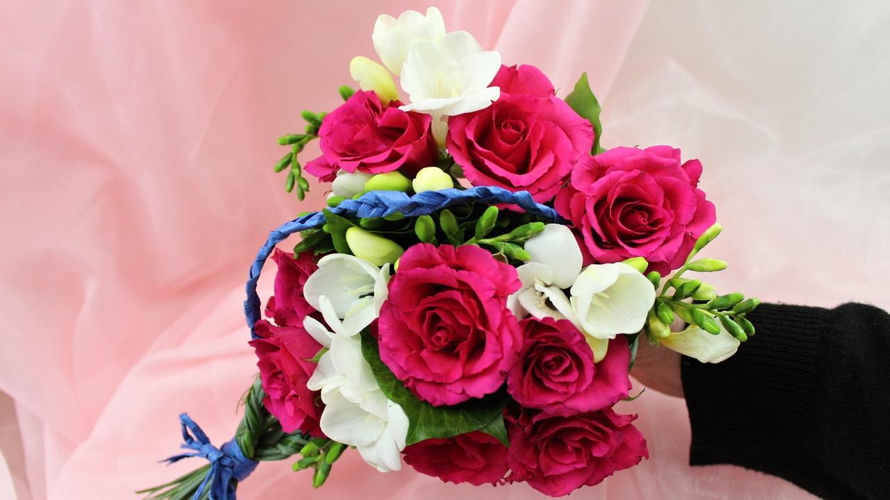Valentinstag Geschenk ❁ Floristik Anleitung ❁ Blumenstrauß selber binden